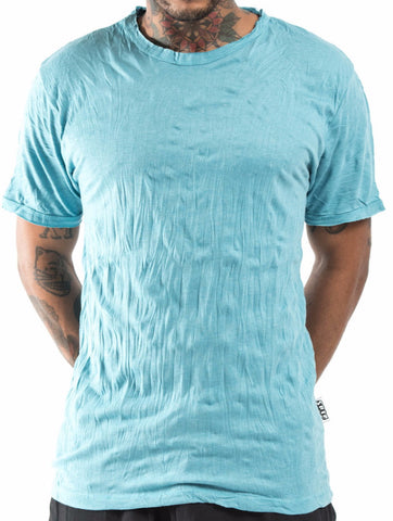 Sure Design Men's Blank T-Shirt Turquoise