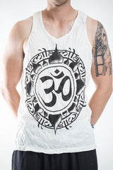 Sure Design Men's Infinitee Ohm Tank Top White