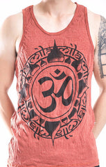 Sure Design Men's Infinitee Ohm Tank Top Brick