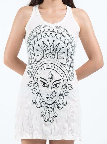 Sure Design Women's Durga Tank Dress White