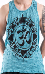 Sure Design Men's Infinitee Ohm Tank Top Turquoise