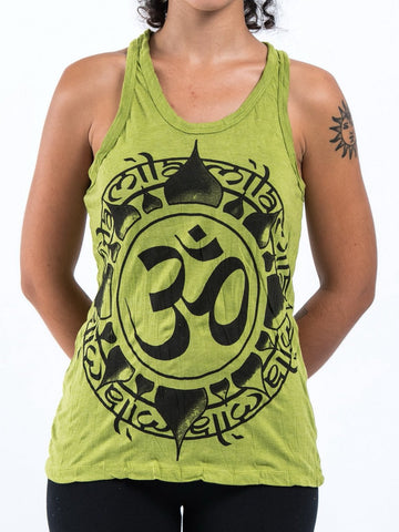 Sure Design Women's Infinitee Ohm Tank Top Lime