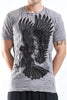 Sure Design Men's Eagle T-Shirt Gray