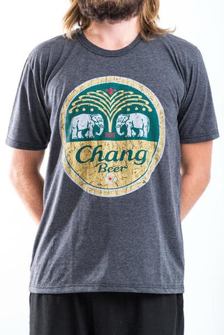 Men's Chang Beer T-Shirt Black