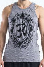 Sure Design Men's Infinitee Ohm Tank Top Gray