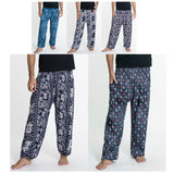 Wholesale Assorted Set of 5 Elephant Tall Harem Pants - $55.00