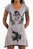 Wholesale Sure Design Women's Space Man Dress Gray - $9.50
