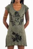 Wholesale Sure Design Women's Space Man Dress Green - $9.50