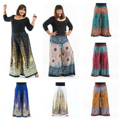 Assorted set of 5 Plus Size Palazzo Style Harem Pants