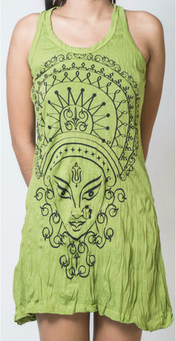 Sure Design Women's Durga Tank Dress Lime