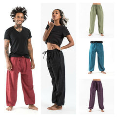 Assorted set of 5 Drawstring Pin Stripe Cotton Pants