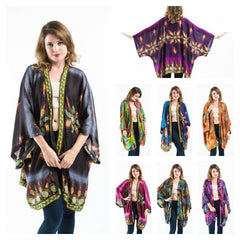 Assorted set of 10 Unisex Kimono Cardigan