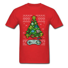 Load image into Gallery viewer, Classic Gamer Unit Christmas Tree Tee