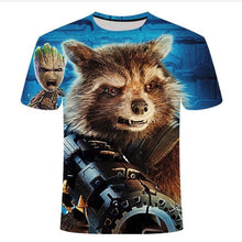 Load image into Gallery viewer, Superhero Groot Guardians of the Galaxy Tee