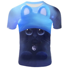 Load image into Gallery viewer, Cute Cat Funny Tee