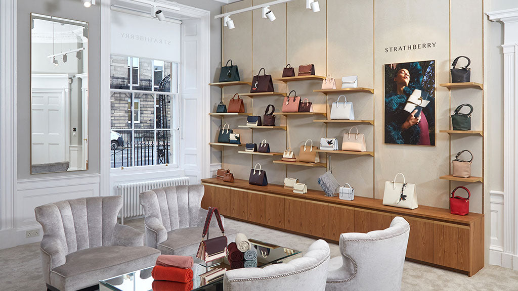 Strathberry Edinburgh Showroom