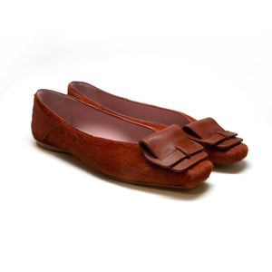 MARLEY - Haircalf/Calf Cognac