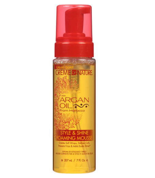 C.O.N Argan Oil Foaming Mousse - Luxe & Glam Beauty Supply