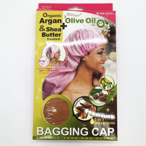 Organic 3-in-1 Triple Nutrition Bagging Cap - Luxe & Glam Beauty Supply