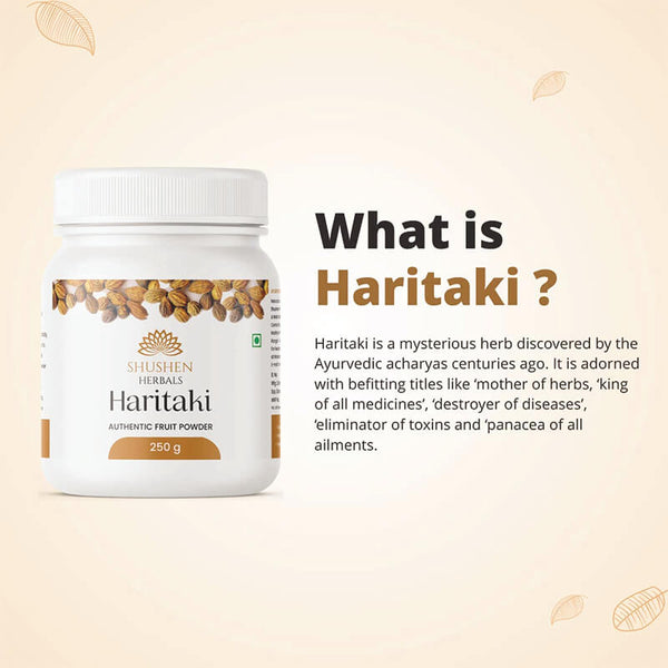 Shushen Herbal Authentic Haritaki Powder