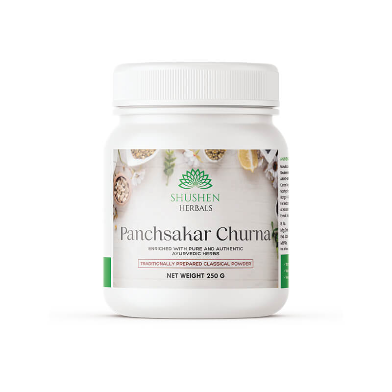 Shushen Herbal Authentic Panchsakar Churna