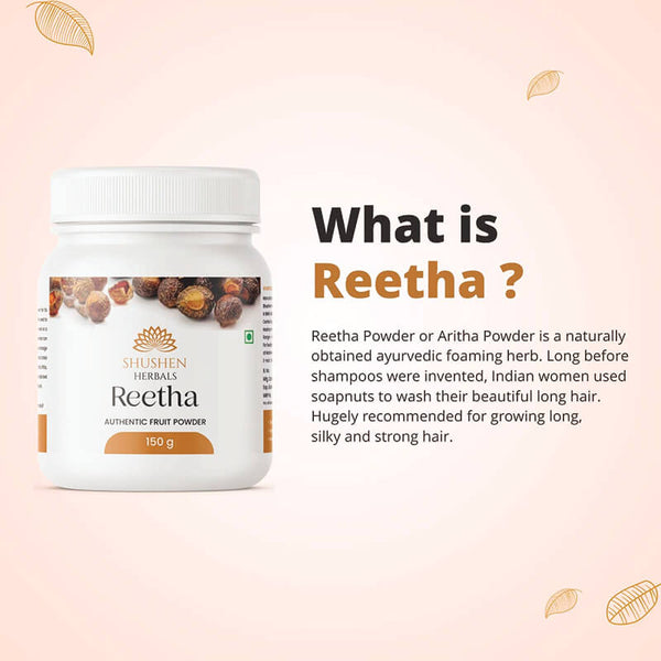 Shushen Herbal Authentic Reetha Powder