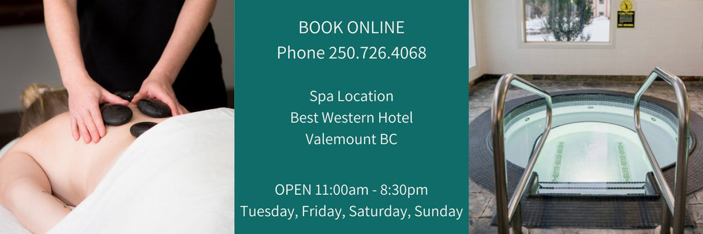 Massage and Spa located in Valemount BC