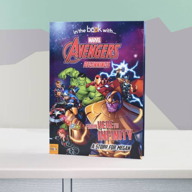 Avengers Beginnings Personalised Marvel Book