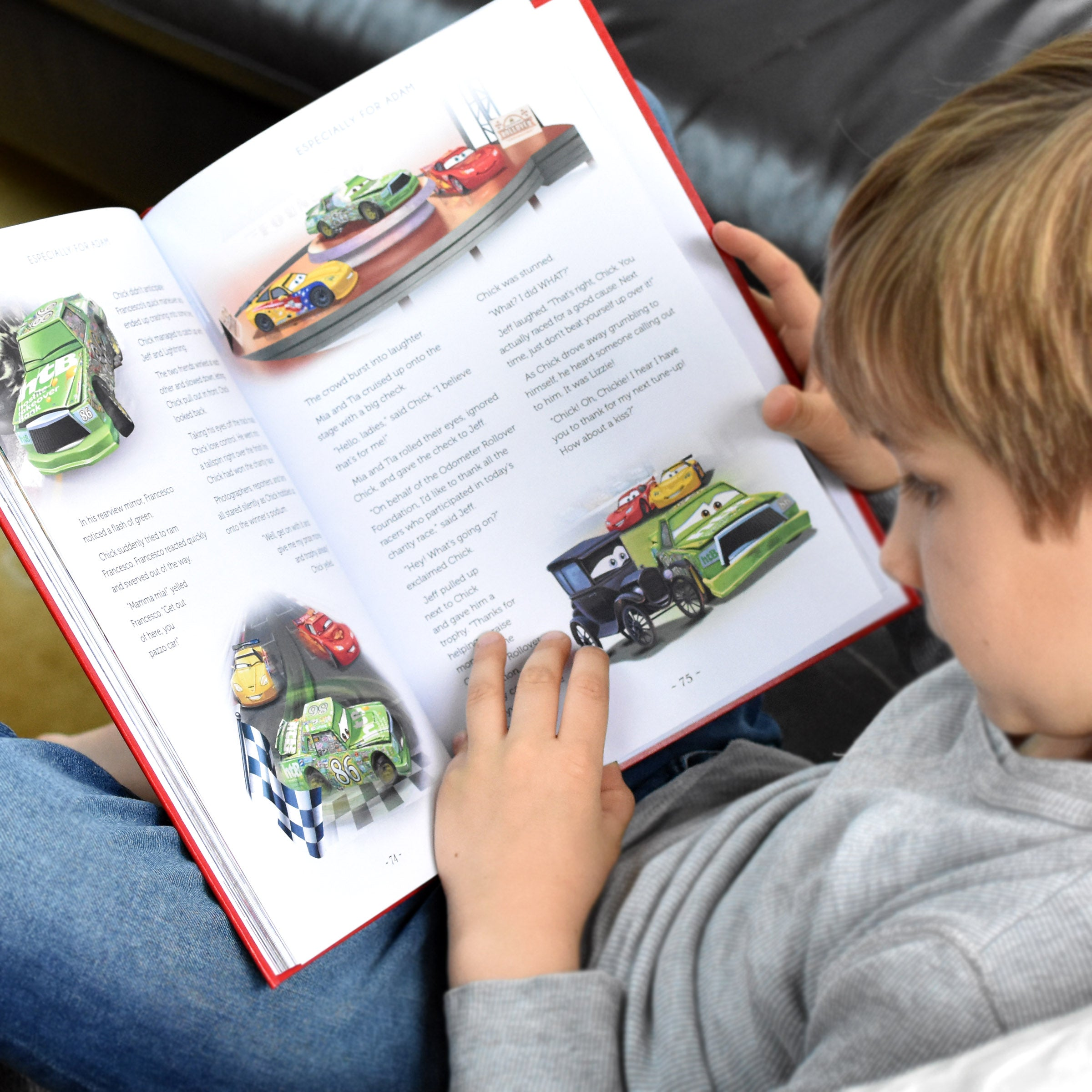 "Personalised Disney ""CARS"" Collection Book"