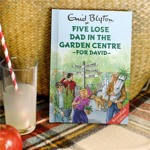 Personalised Famous Five Lose Dad in the Garden Centre Book