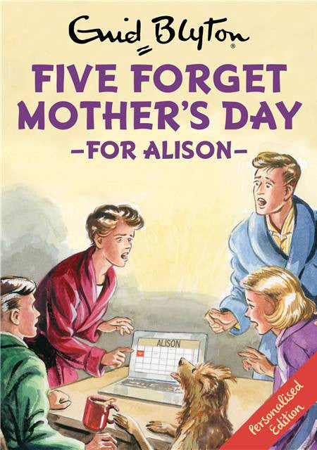 Personalised Famous Five Forget Mother's Day Book