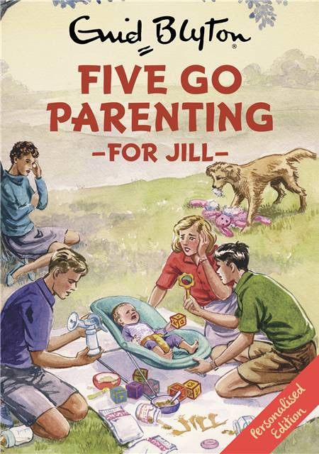 Personalised Famous Five Go Parenting Book