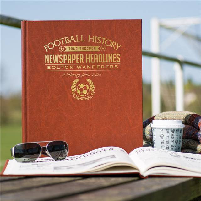 Personalised Bolton Football Newspaper Book - Personalised Gift Solutions - 1
