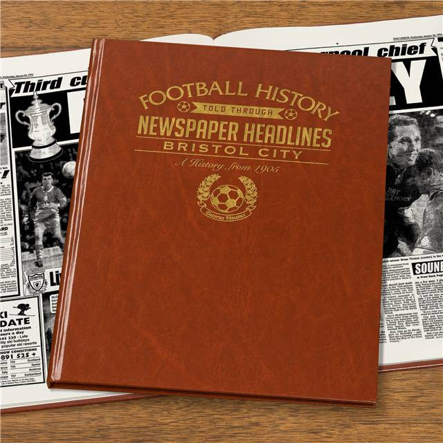 Personalised Bristol City Football Newspaper Book - Personalised Gift Solutions - 7