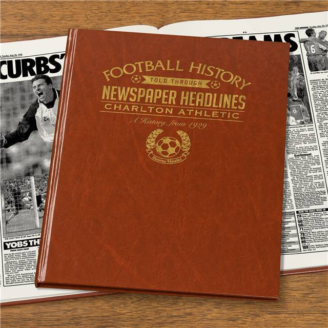 Personalised Charlton Football Newspaper Book - Personalised Gift Solutions - 7