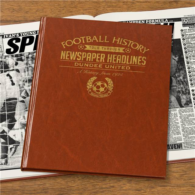 Personalised Dundee Utd Football Newspaper Book - Personalised Gift Solutions - 7