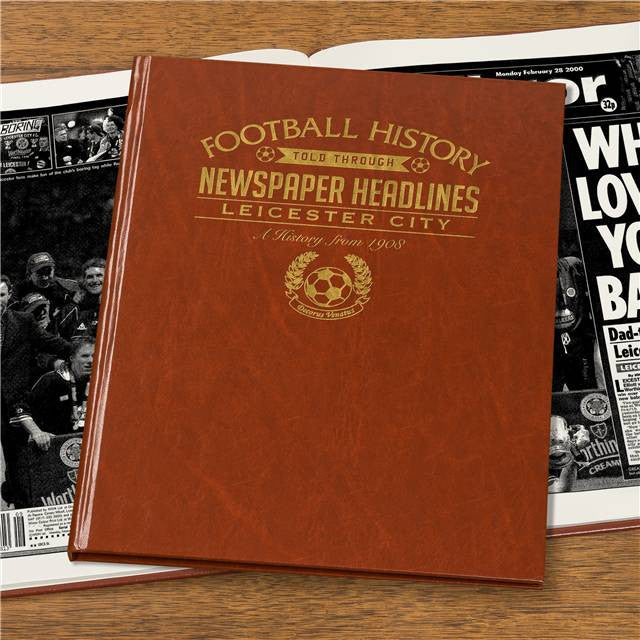 Personalised Leicester Football Newspaper Book - Personalised Gift Solutions - 7
