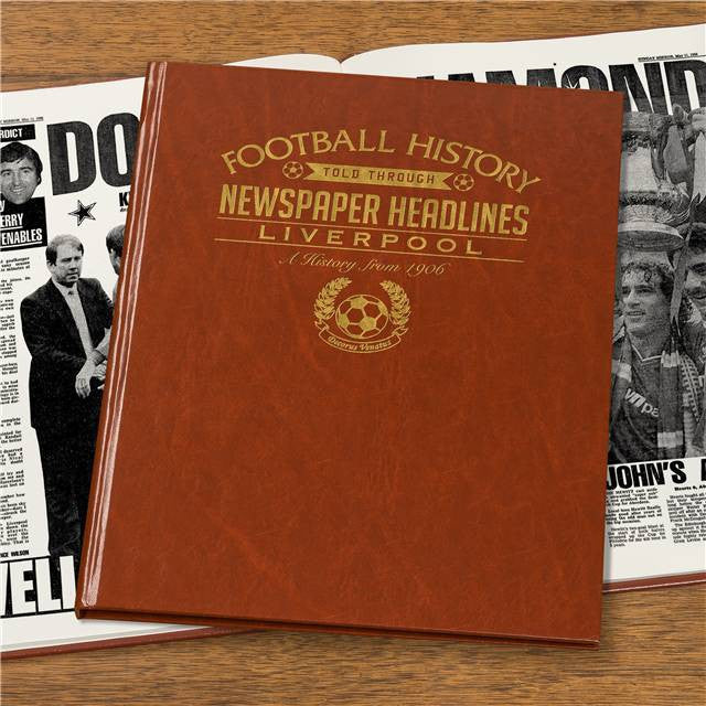 Personalised Liverpool Football Newspaper Book - Personalised Gift Solutions - 7