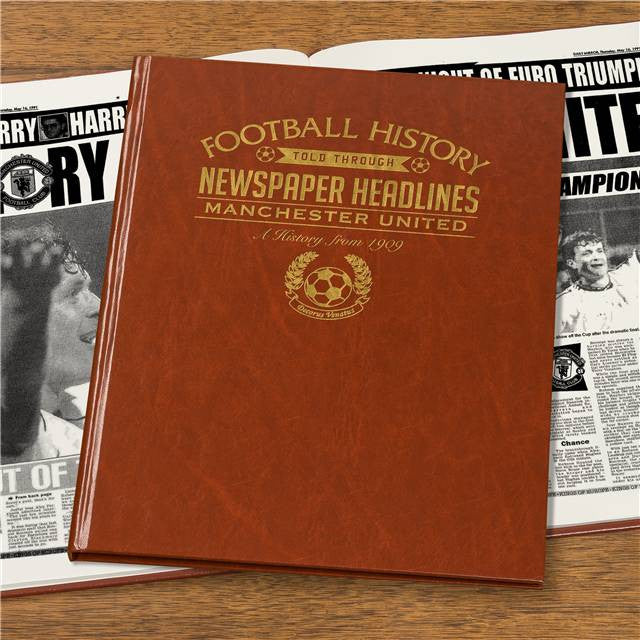Personalised Manchester Utd Football Newspaper Book - Personalised Gift Solutions - 7