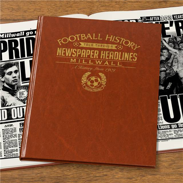 Personalised Millwall Football Newspaper Book - Personalised Gift Solutions - 6