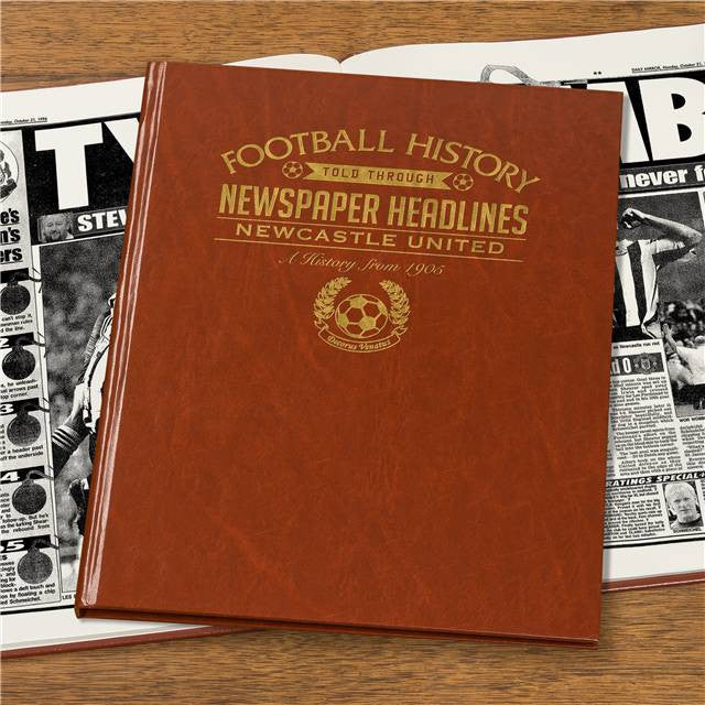 Personalised Newcastle Football Newspaper Book - Personalised Gift Solutions - 4