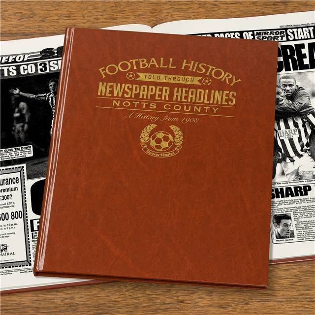 Personalised Notts County Football Newspaper Book - Personalised Gift Solutions - 7