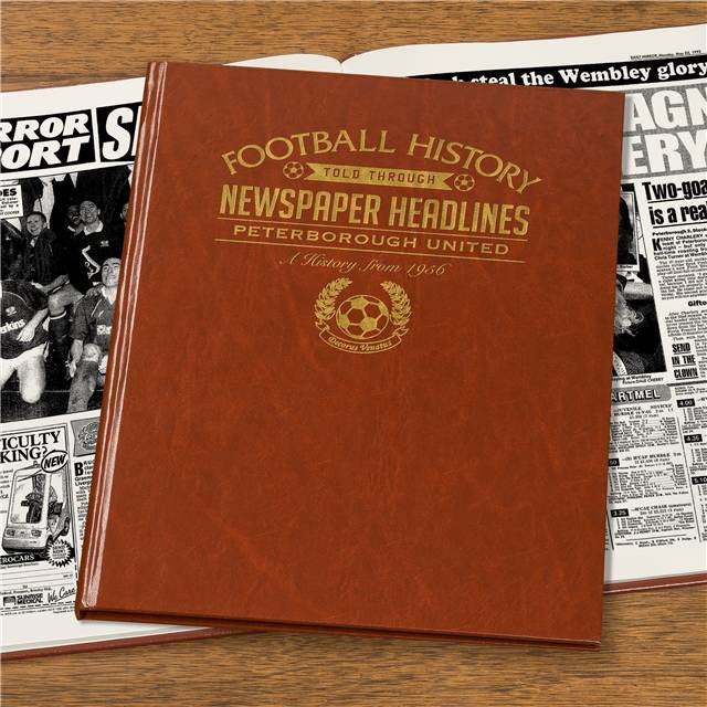 Personalised Peterborough Football Newspaper Book - Personalised Gift Solutions - 7