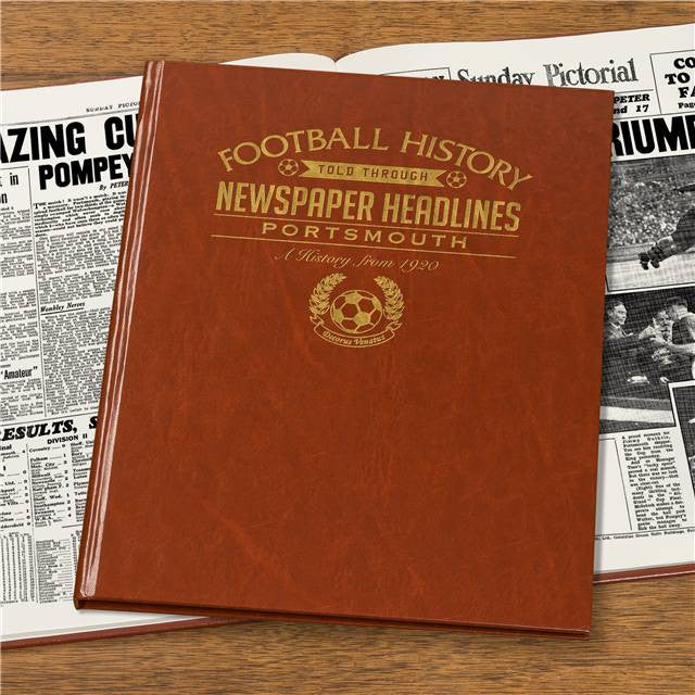 Personalised Portsmouth Football Newspaper Book - Personalised Gift Solutions - 7