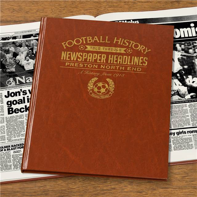 Personalised Preston Football Newspaper Book - Personalised Gift Solutions - 7