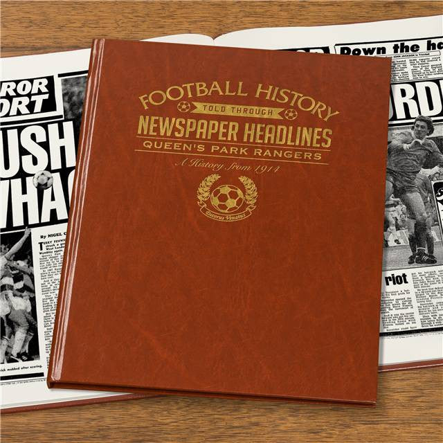 Personalised QPR Football Newspaper Book - Personalised Gift Solutions - 6
