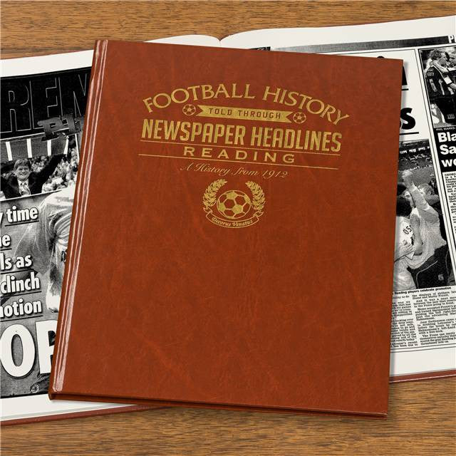 Personalised Reading Football Newspaper Book - Personalised Gift Solutions - 4