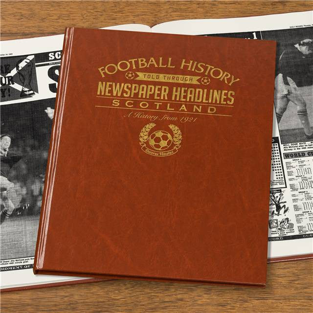 Personalised Scotland Football Newspaper Book - Personalised Gift Solutions - 5