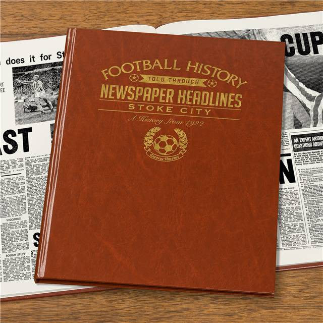 Personalised Stoke Football Newspaper Book - Personalised Gift Solutions - 7