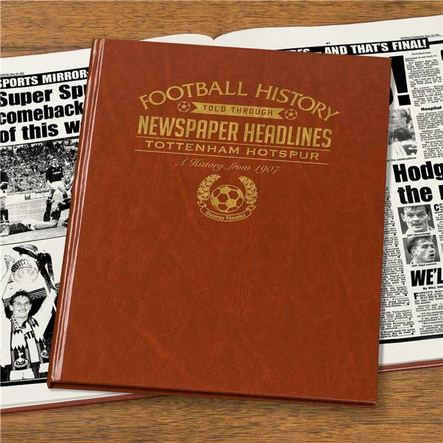 Personalised Tottenham Football Newspaper Book - Personalised Gift Solutions - 7